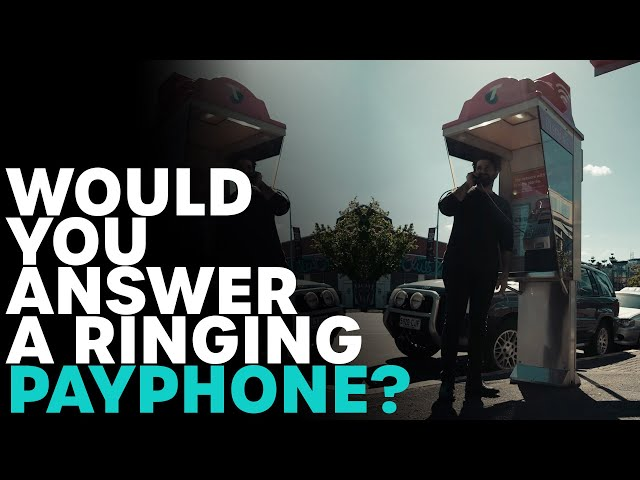 Would You Answer A Ringing Payphone? | B105