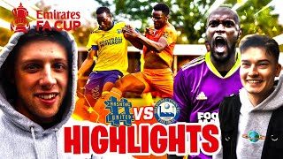 BIGGEST GAME EVER! - FA CUP HIGHLIGHTS - HASHTAG UNITED vs BRAINTREE TOWN