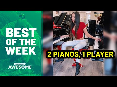 Best of the Week: Piano Skills & More | People Are Awesome