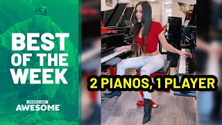 Best of the Week: 2 Pianos, 1 Player | People Are Awesome
