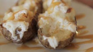 Potatoes As Desserts: Maple Fries With Milkshake, Twice Baked Potato Sundae, More