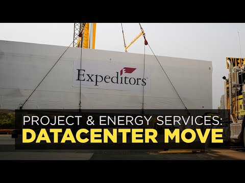 Expeditors Project Cargo Datacenter Move