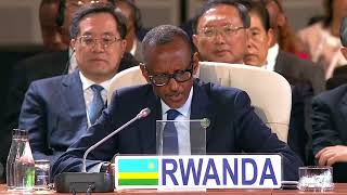 President Kagame speaks at BRICS Africa Outreach Session | Johannesburg, 27 July 2018