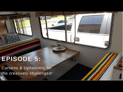 Episode 5 Curtains and upholstery for the creativly Challenged