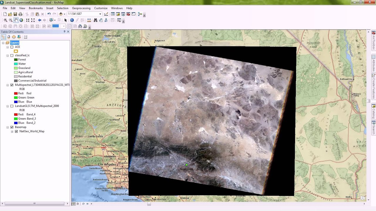Removing Black Borders (Collars) off of images in ArcMap