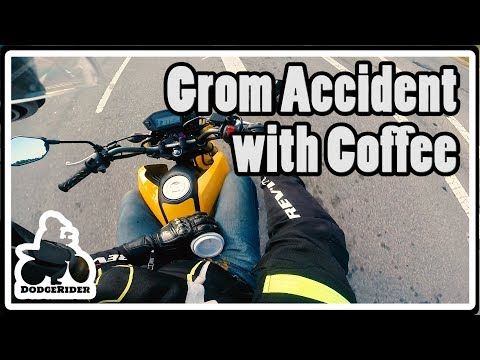 Grom Accident with Coffee - Grom Adventures