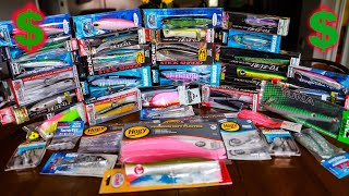 Dropping some serious money on lures. I don't want this video to co...