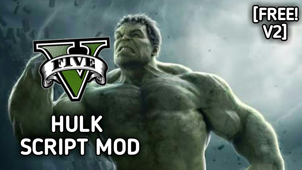 HOW TO INSTALL HULK V2 SCRIPT MOD + PED+ (FULL INSTALLATION) w/  GAMEPLAY[FREE] I GTA V MODS