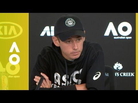 Alex De Minaur Pre-Tournament Press Conference | Australian Open 2018