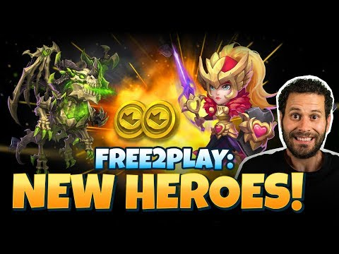 JT's F2P NEW Dragon And Rosaleen HOW TO GET Castle Clash