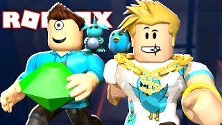 ROB THE JEWELRY STORE OBBY IN ROBLOX w/ Gamer Chad!!! | MicroGuardian