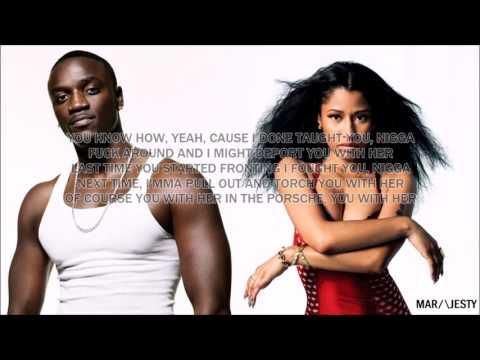 Akon Feat  (Nicki Minaj) Make Me Feel   HQ  W/ Lyrics