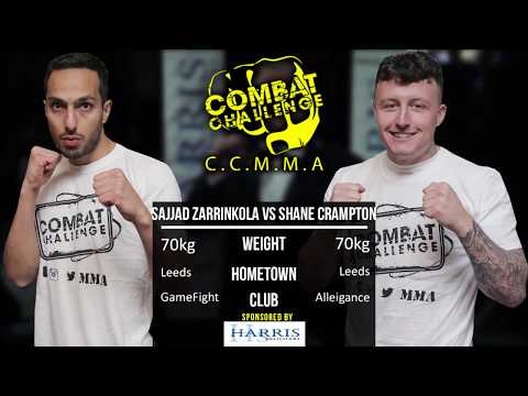 Combat Challenge 20: Shane Crampton vs Sajjad Zarrinkola