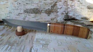 НОЖ ИЗ МЕХПИЛЫ (HSS) # 3/ Knife making * HSS # 3