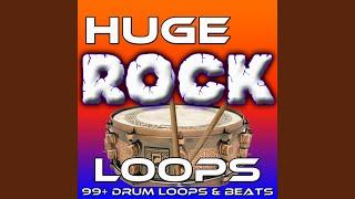 Great Rock Drums Driving Beat Loop (Var. II)