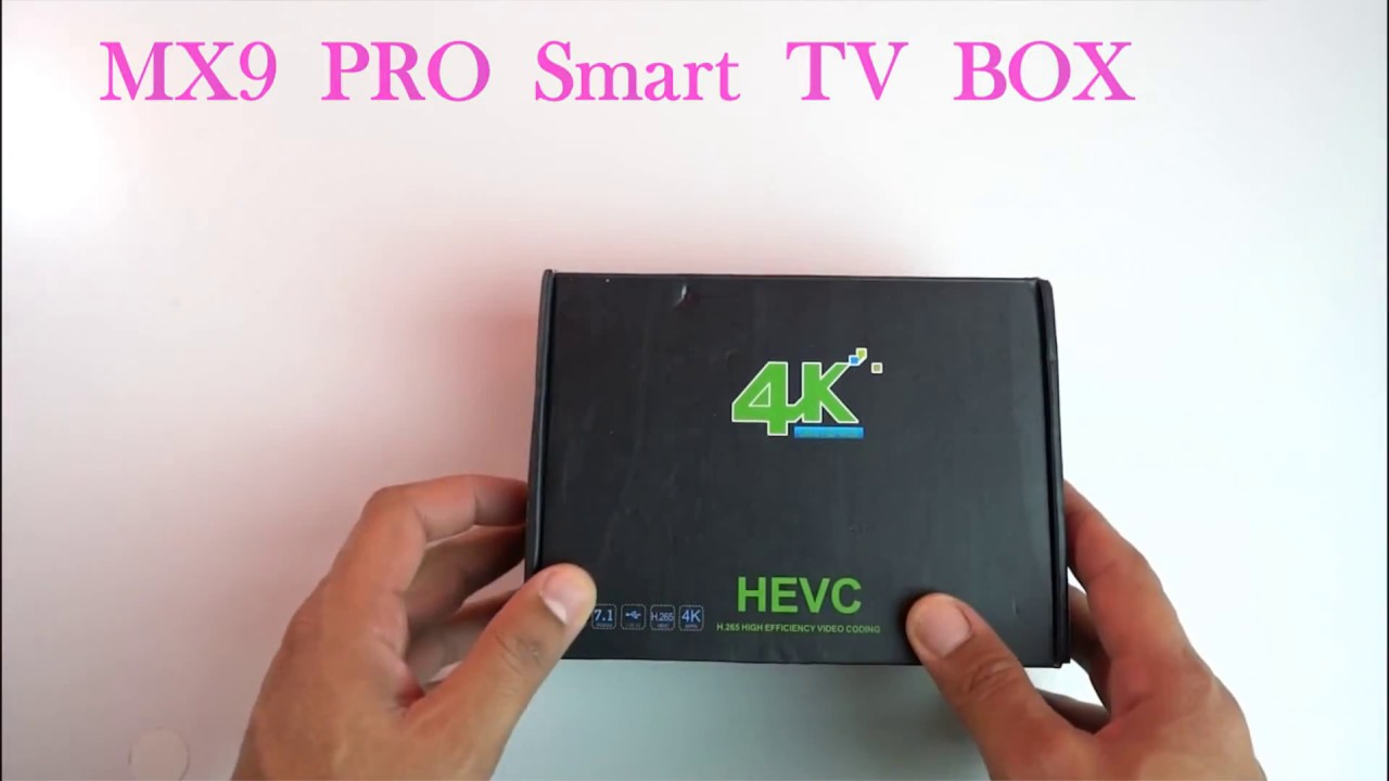 MX9 Pro Rockchip RK3328 quad-core Android 7 1 4K TV box evaluation and  firmware