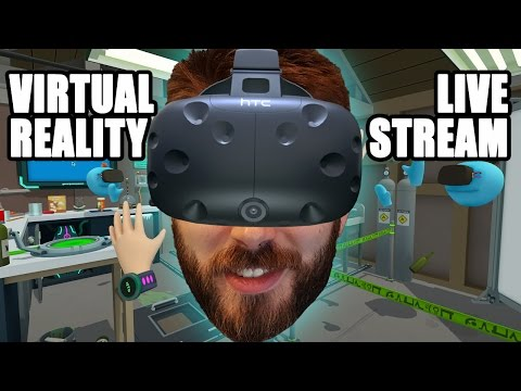 ENTER THE WORLD OF VIRTUAL REALITY   HTC Vive VR Games