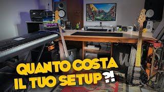 UN SETUP MUSIC MAKING DA 12.000€ - Quanto costa il tuo setup #1