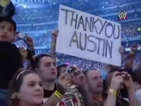 Wrestlemania 25 Stone Cold steve austin tribute