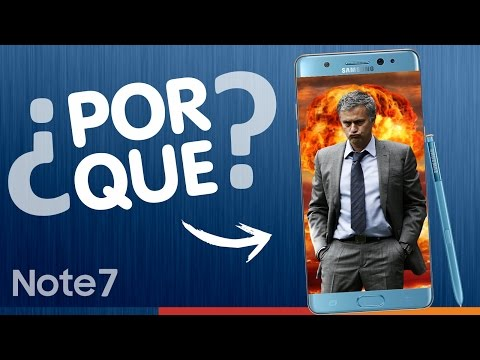"¿POR QUÉ ""EXPLOTABAN"" LOS GALAXY NOTE 7?"