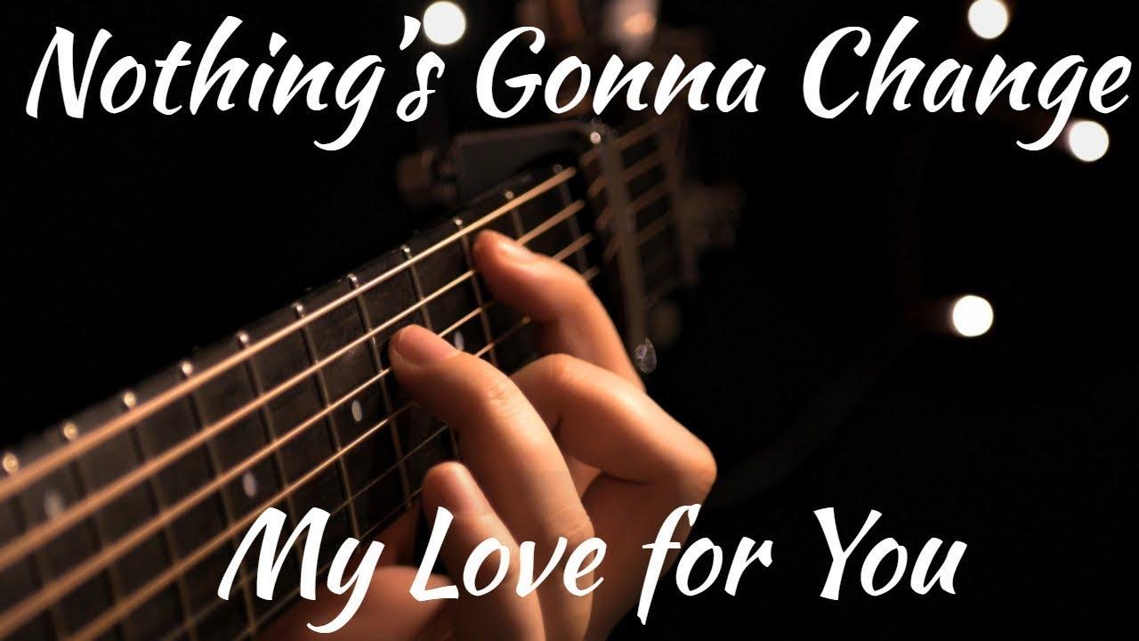 Glenn Medeiros - Nothing's Gonna Change My Love For You - YouTube