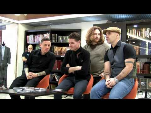 Nitzer Ebb interview (Moscow 05.02.2010)
