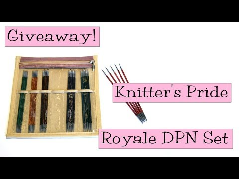 Giveaway! Knitter's Pride Royale DPN Needle Sets