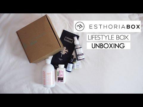 UNBOXING | Esthoria Lifestyle Box (ft. Province Apothecary)