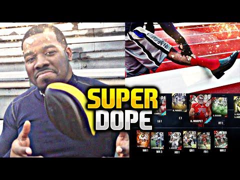 TONY MONTANA SUPER DOPE !!! Madden NFL 16 Ultimate Team