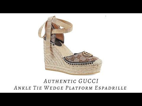 Gucci Ankle Tie