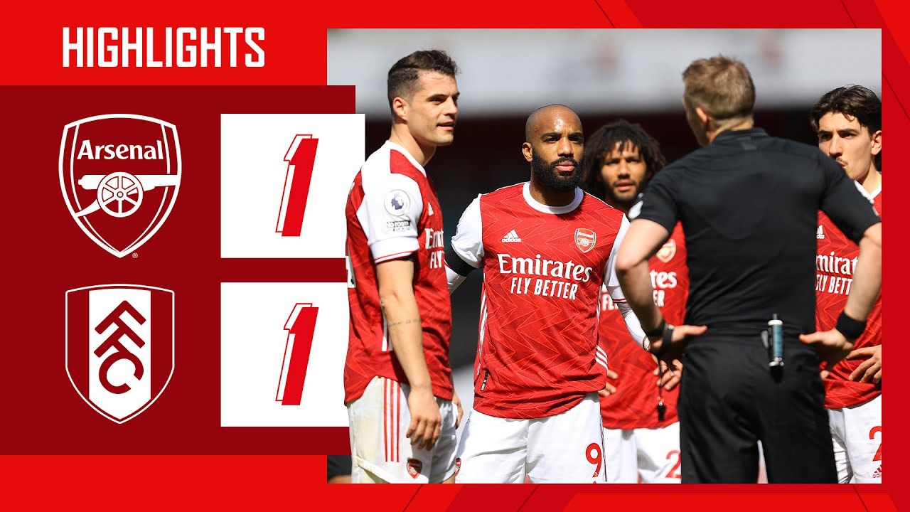 Download HIGHLIGHTS | Nketiah salvages a point in added time! | Arsenal vs Fulham (1-1) | Premier League