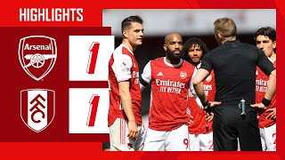 HIGHLIGHTS | Nketiah salvages a point in added time! | Arsenal vs Fulham (1-1) | Premier League