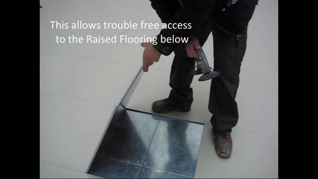 Magnetic ceramic tile on raised access flooring youtube magnetic ceramic tile on raised access flooring doublecrazyfo Image collections