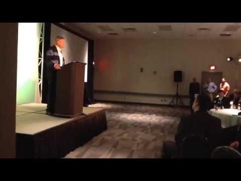 Gary Johnson at Libertarian national convention, Columbus