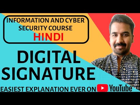 Basics Of Digital Signature Explained in Hindi
