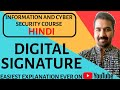 Basics Of Digital Signature Explained in Hindi
