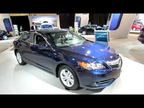 2013 Acura ILX Hybrid Exterior and Interior at 2012 Toronto Auto Show – CIA
