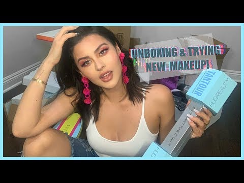 TRYING NEW MAKEUP & UNBOXING VLOG STYLE