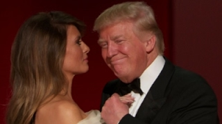 Trumps Dance to 'My Way' at Inaugural Ball