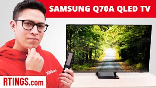 Samsung Q70A QLED TV Review (2021) - The Q70T Improved