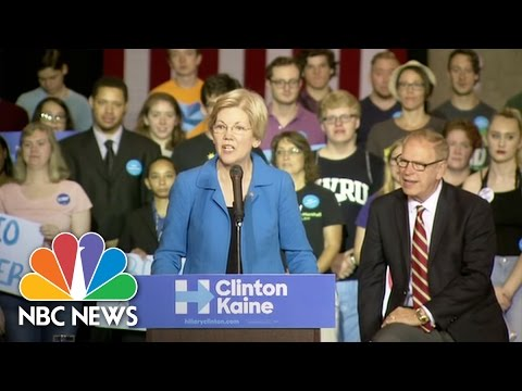 Elizabeth Warren: Donald Trump Is A 'Nasty Little Bully' Who Has 'Dark And Ugly Soul' | NBC News