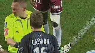 Incidents FC Metz vs RC Strasbourg  - Saison 2007-2008