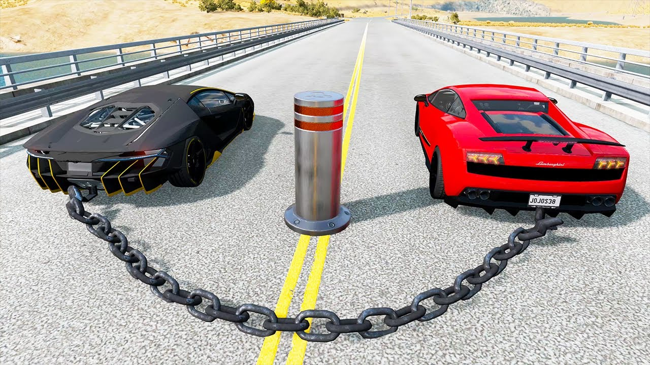 Epic High Speed Crashes - BeamNG.Drive ( Realistic Car Crashes )