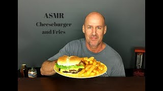 ASMR: Cheeseburger and Crispy Fries~Soft Spoken