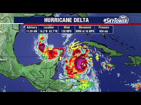 Hurricane Delta update and tropical weather forecast: Oct. 6, 2020