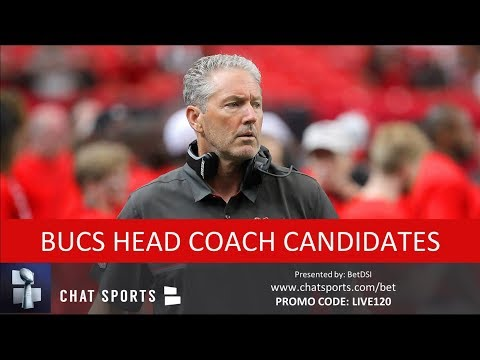 Top 10 Buccaneers Head Coach Candidates To Replace Dirk Koetter In 2019 (If He's Fired) - 동영상