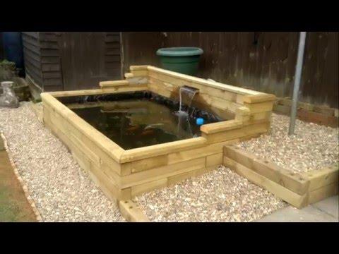 Raised koi pond doovi for Building a raised koi pond