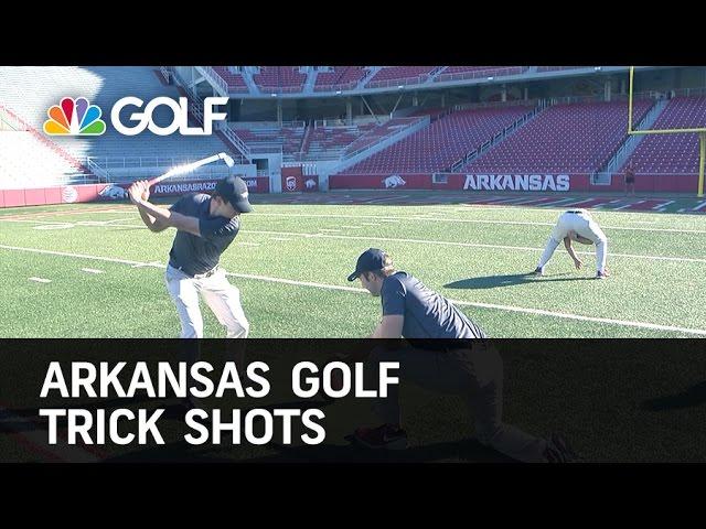 Arkansas Golf Trick Shots | Golf Channel