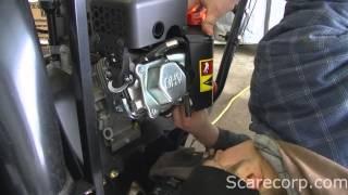 Snow Blower Carburetor Clean