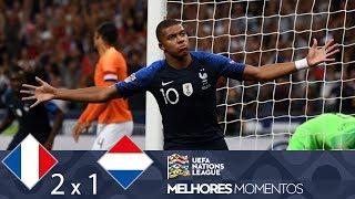MELHORES MOMENTOS - FRANÇA 2 X 1 HOLANDA - UEFA NATIONS LEAGUE (09/09/2018)